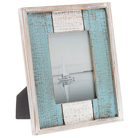 Barnyard Designs Rustic Distressed Picture Frame 5 X 7 Wood Photo