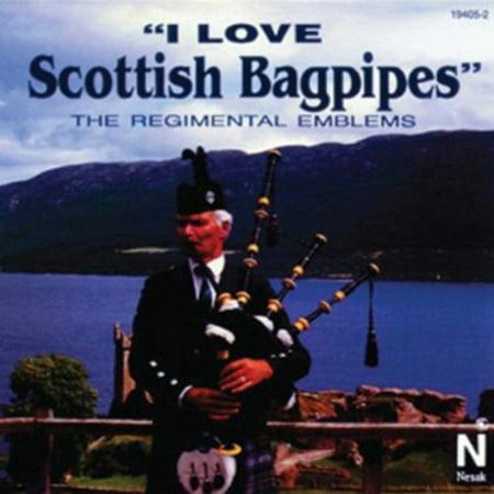 I Love Scottish Bagpipes (CD) (Scottish Celtic Bagpipes)