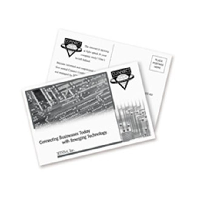 Avery Consumer Products AVE5689 Laser-Inkjet Postcard- Perforated- 5-. 50inchx4-. 25inch- White