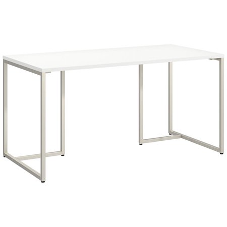 Incredible Bbf Method By Kathy Ireland 60 Table Desk In White Download Free Architecture Designs Pushbritishbridgeorg