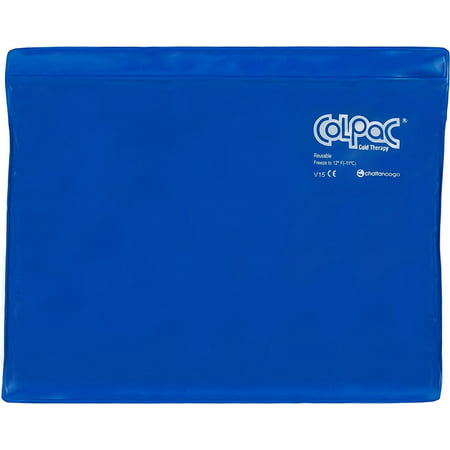 Colpac Blue Vinyl - Chattanooga ColPac Cold Therapy, Blue Vinyl, Large/Standard-Size Cold Pack (11
