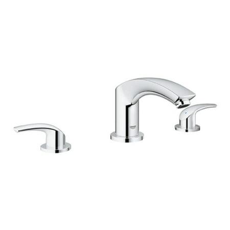 Grohe Eurosmart Centerset - Grohe 25168002 Eurosmart Roman Bathtub Faucet, Chrome