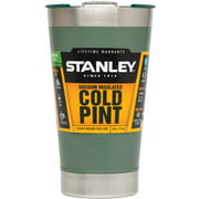 Stanley 16-Ounce Classic SS Vacuum Pint Glass, Green
