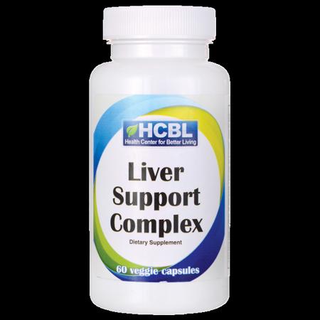 HCBL Liver Support Formula 60 Veg