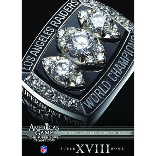 Nfl America's Game: 1983 Raiders (Super Bowl XVIII) ( (DVD)) by