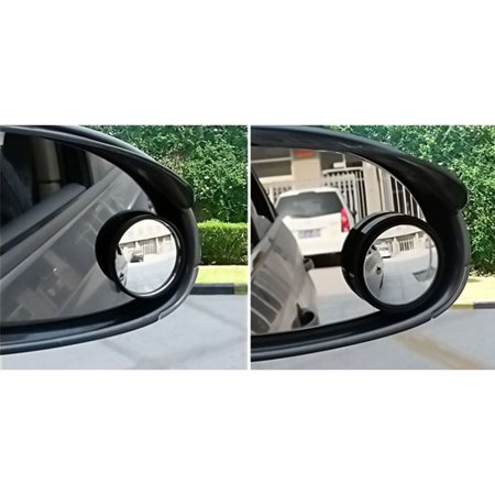 1 Pair Automotive Blind Spot Zone Mirror Car Rear View Side Door Adjustable Round Mirror Car Accessories - image 7 de 7