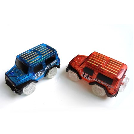 1Pcs Cars For Magic Tracks Glow in the Dark Amazing Racetrack Light Up Race (Not Include Tracks) - image 4 of 6