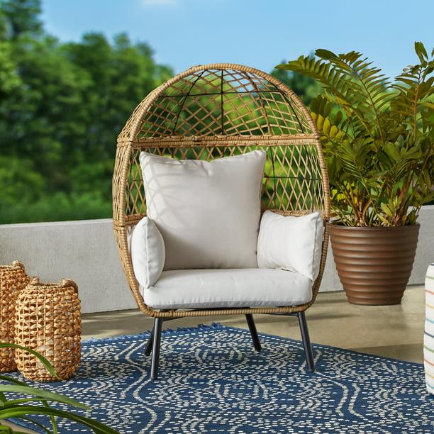 Better Homes & Gardens Ventura Stationary Outdoor Kid's Egg Chair