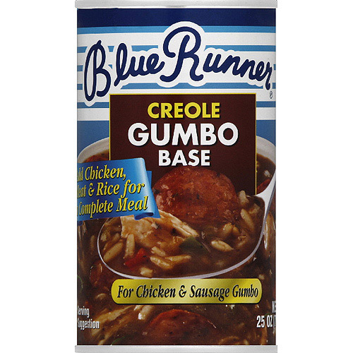 Blue Runner Creole Gumbo Base, 25 oz, (Pack of 6)