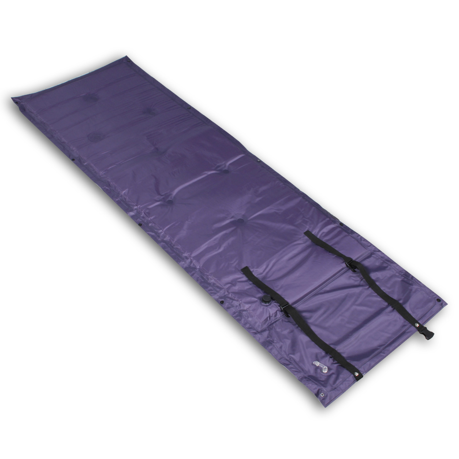 CBD PVC Waterproof Light Weight Self-Inflating for Camping Inflatable Backpacking Sleeping Pad Purple 1 PCS