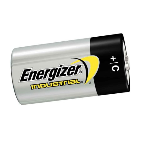 Energizer - C Cell Industrial Strength Alkaline Battery, 8350Mah - 12-Pack