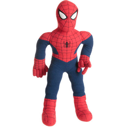 Character Cuddle Pillow, Spiderman