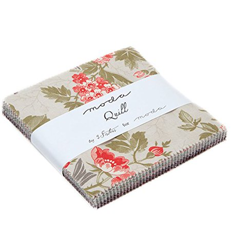 Quill Charm Pack By Three Sisters for Moda; 42 - 5