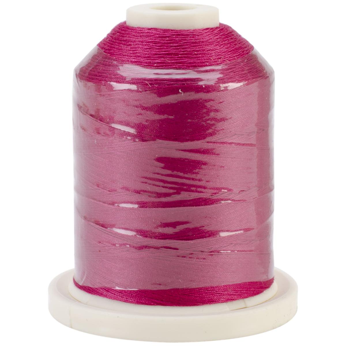 Signature 40 Cotton Solid Colors 700yd-Garnet