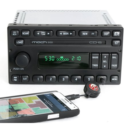 Ford Escape 2006-07 Mariner Mach 300 Radio AM FM 6 CD w Aux Input 6L8T-18C815-AD - (2013 Ford Escape Radio Buttons Not Working)