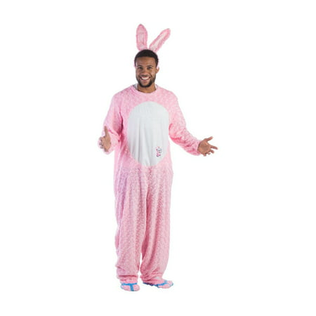 Energizer Battery Pink Bunny Mascot Men Costume - Panda Mascot Suit