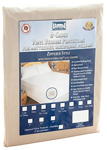 Bargoose Vinyl Box Spring and Mattress Covers Twin 9"