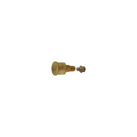 MACs Auto Parts  16-54026 Model T Ford Rear Axle Grease Cup - Brass - Original Appearing - Modern Grease Fitting Inside ()