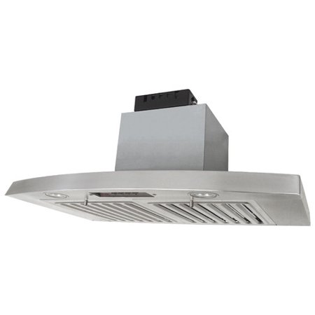 Kobe Rax2836sqb 2 Brillia Under Cabinet Range Hood  3 Speed  680 Cfm  Led Lights  Baffle Filters