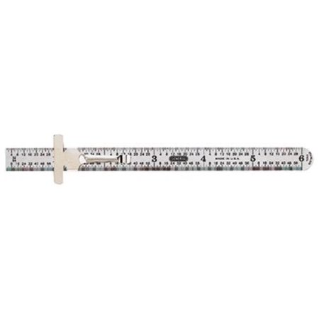 General Tools 318-311ME 32075 6 Inch Flex Stainlesssteel (Show Me A Ruler With Inches And Centimeters)