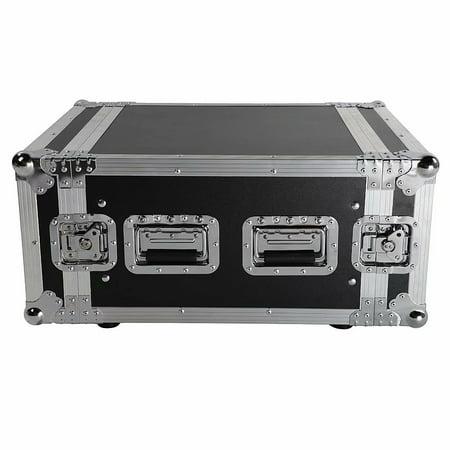 6U Space Rack Case w/ Double Door for 19
