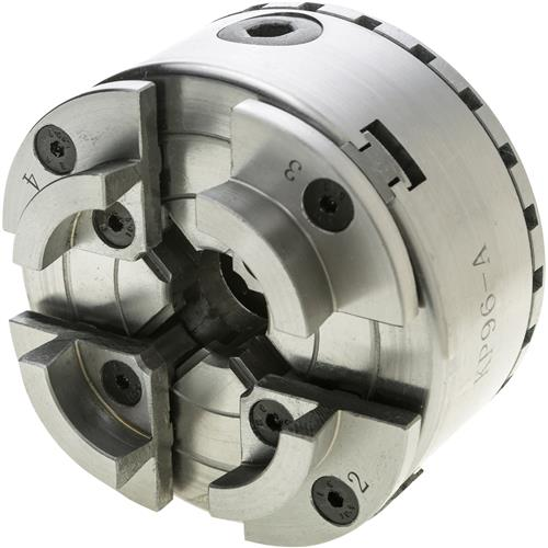 """Grizzly H6265 4 Jaw Wood Chuck 1"""" x 8 TPI"""
