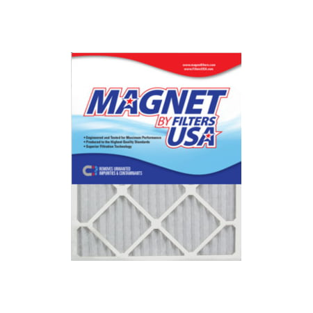 19.5 Apron - 20x20x1 (19.5 x 19.5) Magnet by FiltersUSA 1-Inch Filter (MERV 13) 4 filter pack - One Years Supply