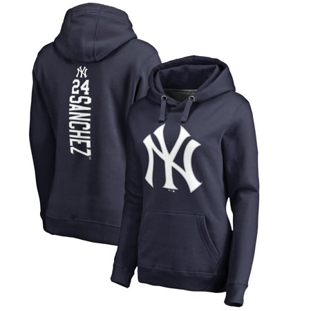 Gary Sanchez New York Yankees Fanatics Branded Women s Backer Pullover  Hoodie - Navy - Walmart.com a0c09021c