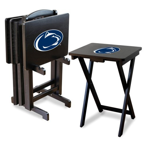 Imperial NCAA 4 Piece TV Tray Set with Stand