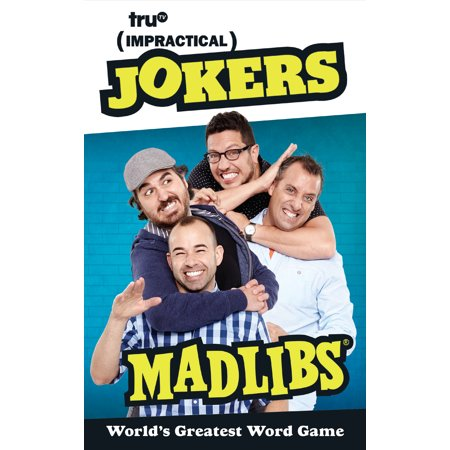 Impractical Jokers Mad Libs - Mad Libs Halloween