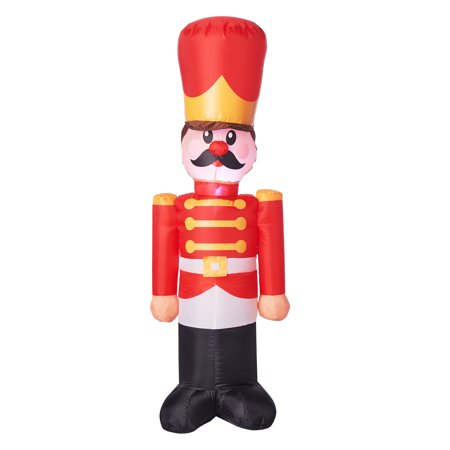 Holiday Time Airblown Inflatable Toy Soldier, 4'