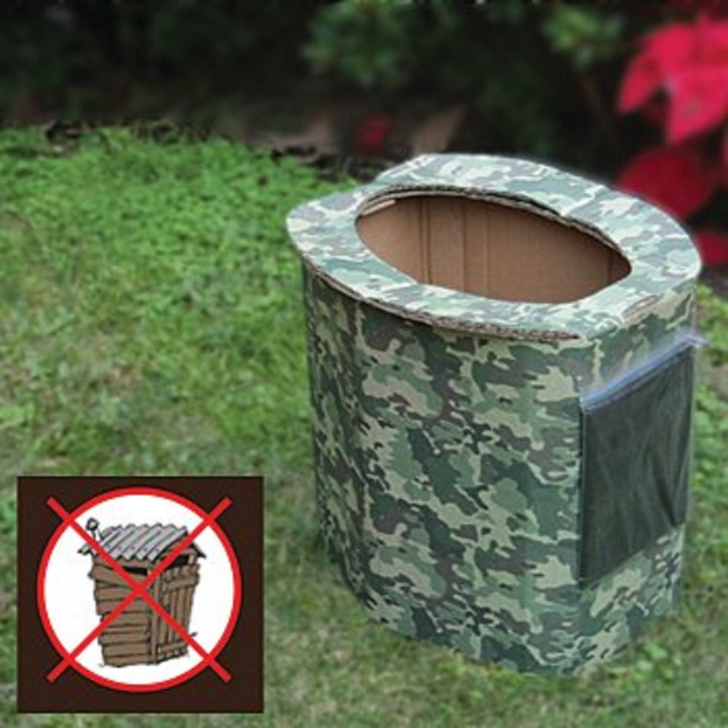 Ultimate Arms Gear Biodegradable Personal Portable Hygiene Folding Reusable Disposable Bathroom Outhouse Outdoors Camping Hunting Hiking Tactical Camo Camouflage