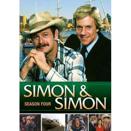 Simon & Simon: Season 4 (DVD) (Simon Baker Dvd)