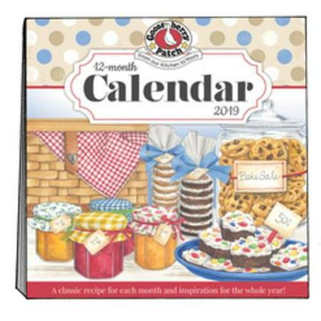2019 Gooseberry Patch Wall Calendar (Hardcover) (Gooseberry Patch Magazine Halloween)