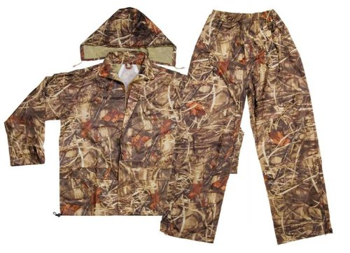 Custom Leathercraft R180XL Camo Rain Suit, X-Large, 2-Piece by