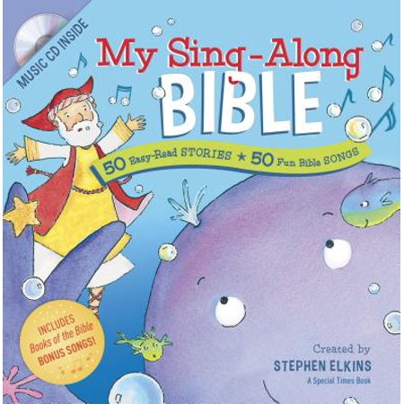 My Sing-Along Bible : 50 Easy-Read Stories + 50 Fun Bible - Story Song Set