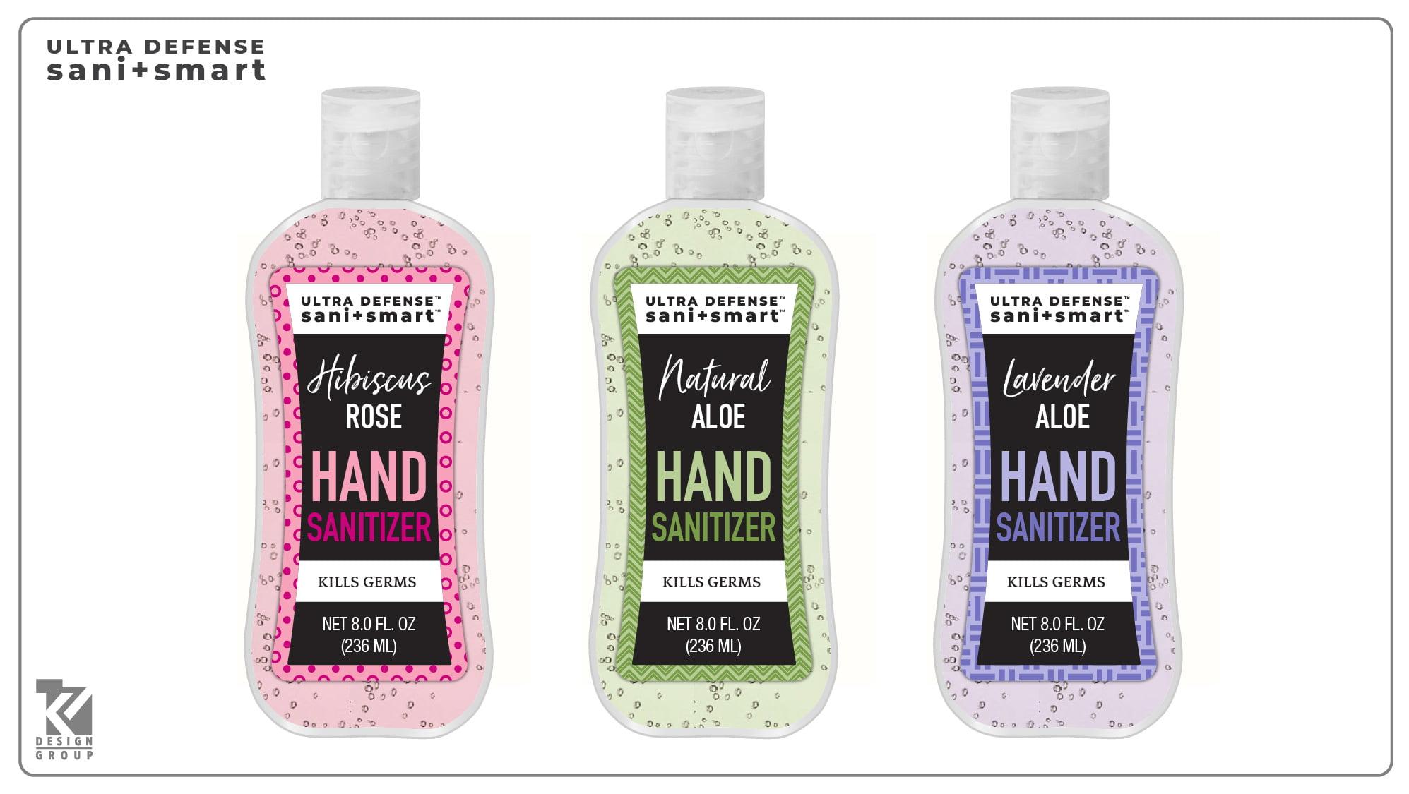 Sani Smart 8oz Hand Sanitizer, Assorted