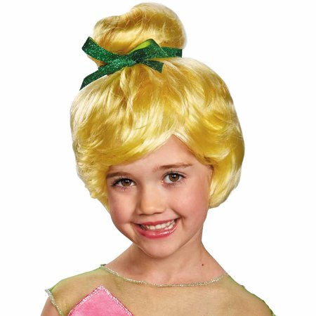 Disney Tinker Bell Wig Child Halloween Costume Accessory