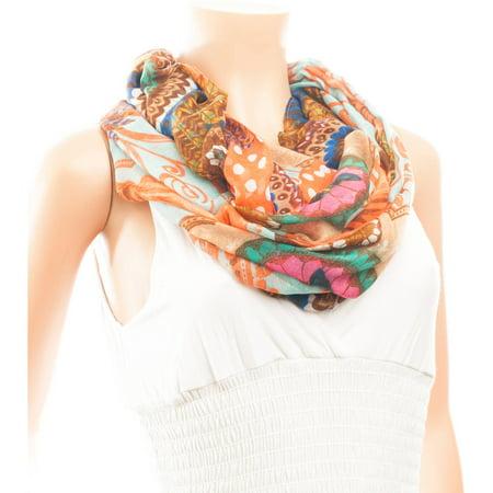 Celik Collection of Women's Premium Infiniti Scarves