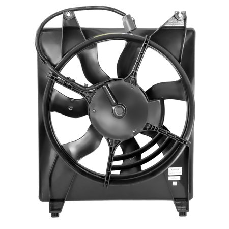 For 2006 to 2010 Kia Sedona Hyundai Entourage Factory Style AC Condenser Cooling Fan Assembly KI3115120 07 08 09