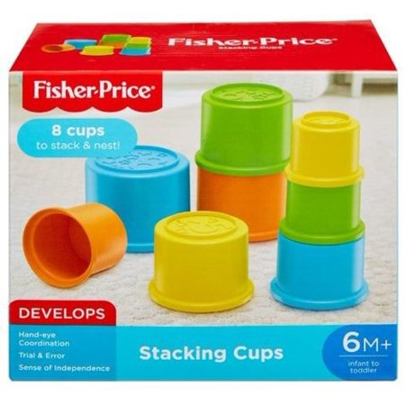 Fisher Price Brilliant Basics Stacking - Fisher Price - Infant Toy - Stacking Cups