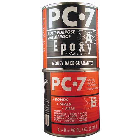 PC PRODUCTS 128770 Epoxy, High Viscosity, Gray, 8 Lb -