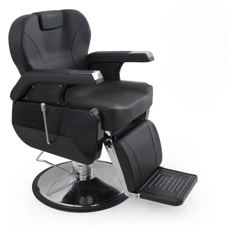 Remarkable Bellavie Hydraulic Barber Chair Reclining Salon Equipment Black Short Links Chair Design For Home Short Linksinfo