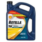 Shell Rotella® T6 5W-40 Full Synthetic Heavy Duty Diesel Engine Oil, 1 Gallon