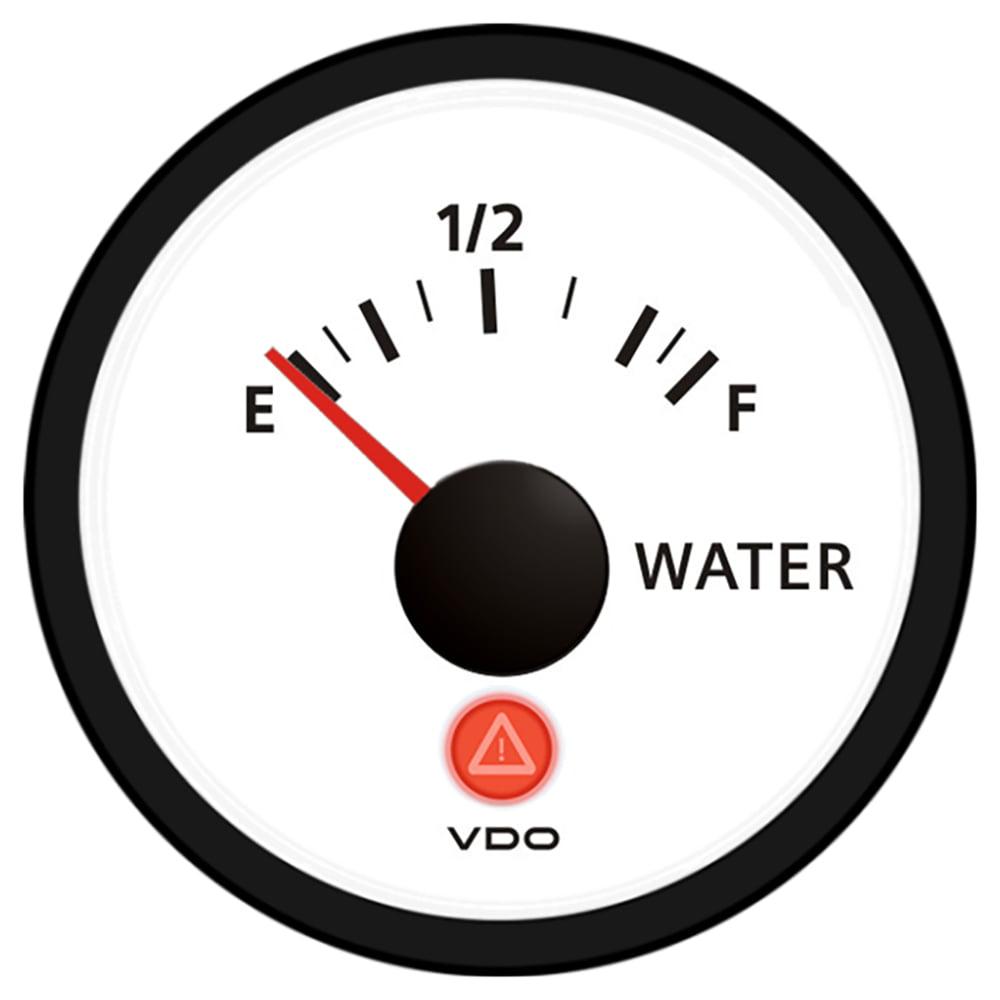 VDO VIEWLINE IVORY FRESHWATER  GAUGE 12/24V USE W/VDO SENDER