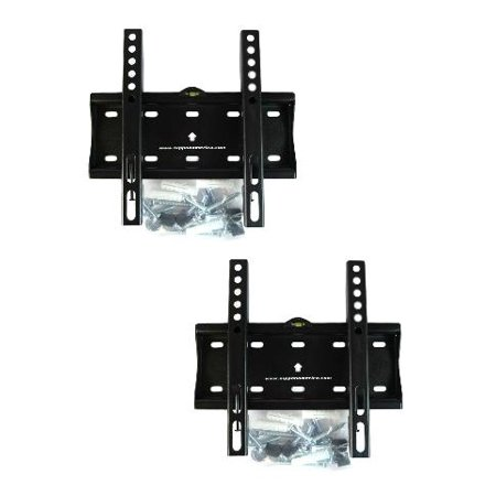 (2) Screen Fixed LCD LED Plasma TV Wall Mount Bracket 200x200