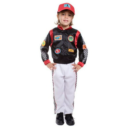 Dress Up America  Boy's 3-piece Race Car Driver Costume](Race Car Costumes For Women)