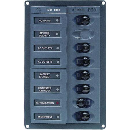 Marinco 110V AC Circuit Breaker 6-Way Panel