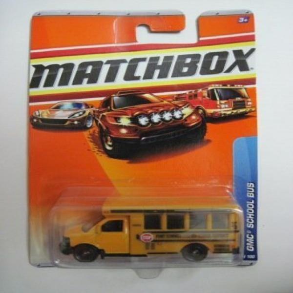 2010 MATCHBOX CITY ACTION #62 FORT SUMMER GMC SCHOOL BUS by Matchbox by