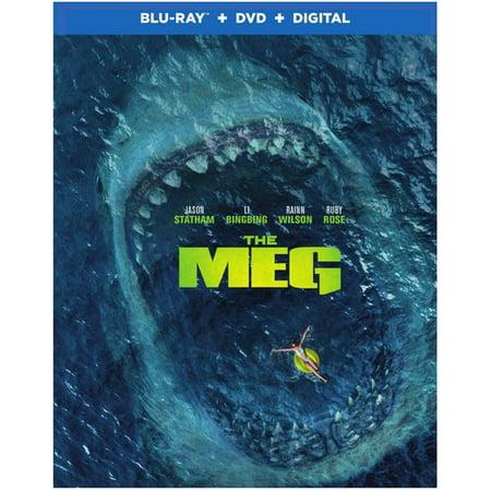 The Meg (Blu-Ray + DVD + VUDU Digital)